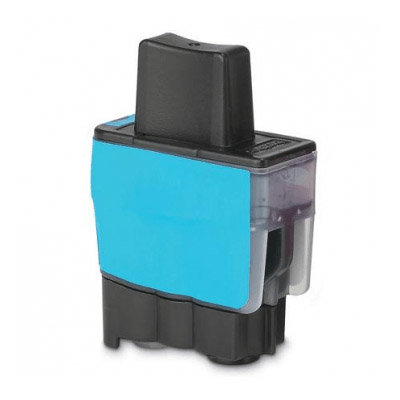 Huismerk Brother LC-900C Inktcartridge Cyaan