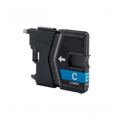 Huismerk Brother LC-985C Inktcartridge Cyaan