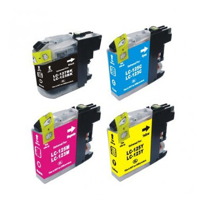Huismerk Brother LC-123 Inktcartridges Multipack 4-Pack