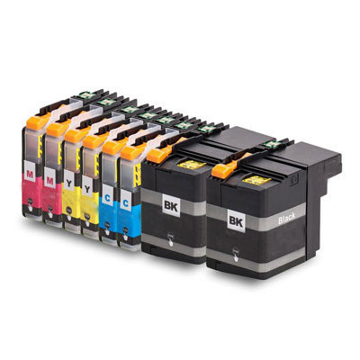 Huismerk Brother LC-22E Inktcartridges Multipack 8-Pack