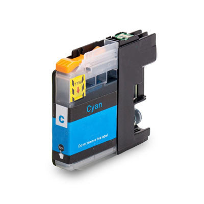 Huismerk Brother LC-22EC Inktcartridge Cyaan