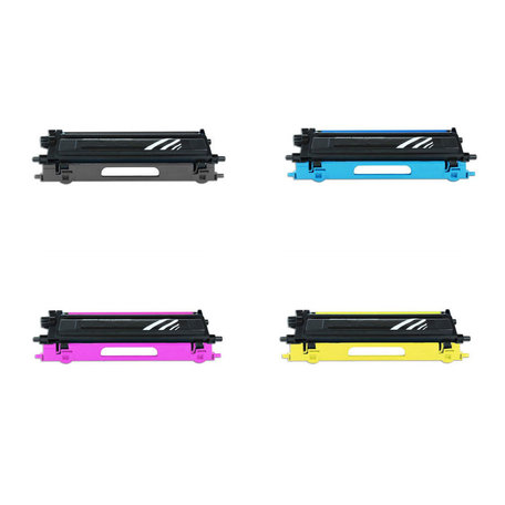 Huismerk Brother TN-135 Toner Multipack 4-Pack