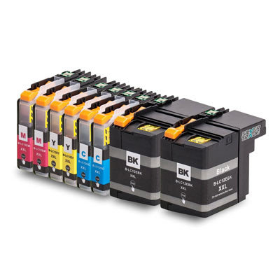Huismerk Brother LC-12E Inktcartridges Multipack 8-Pack