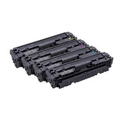 Huismerk Toner voor HP 410X (CF410X/CF411X/CF412X/CF413X) Multipack 4-Pack