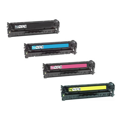 Huismerk Toner voor HP 312A (CF380X/CF381A/CF382A/CF383A) Multipack 4-Pack