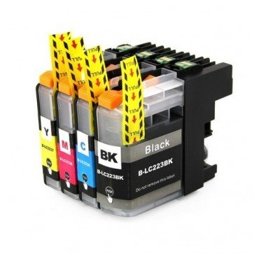 Huismerk Brother LC-223 Inktcartridges Multipack 4-Pack