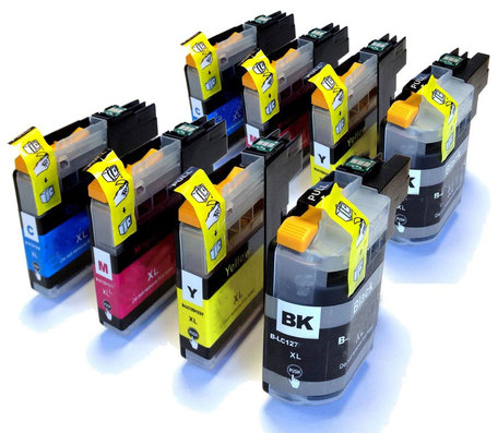 Huismerk Brother LC-225XL/LC-227XL Inktcartriges Multipack 8-Pack
