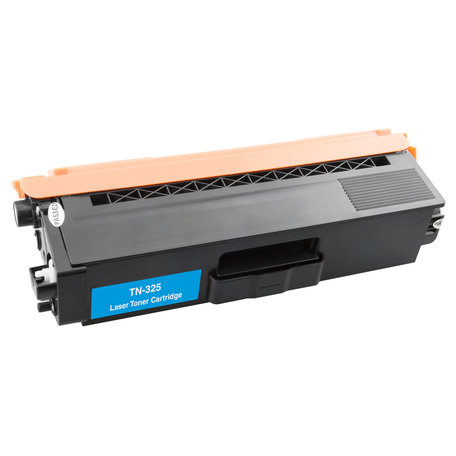 Huismerk Brother TN-325C Toner Cyaan