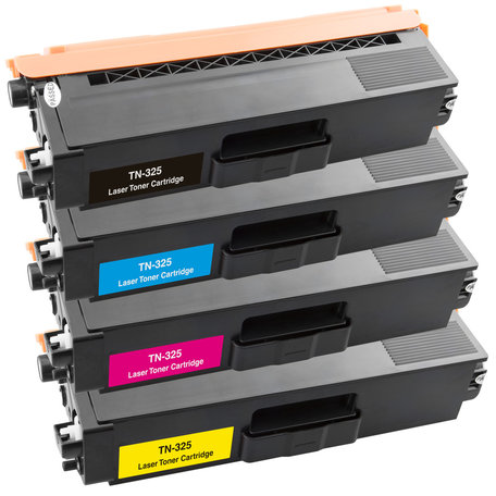 Huismerk Brother TN-325 Toner Multipack 4-Pack