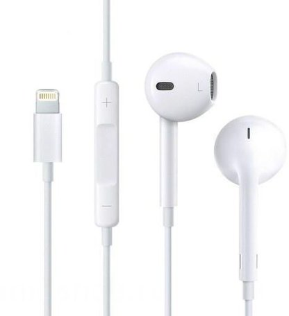 HOCO L7 Bluetooth In-Ear Oordopjes - Met Lightning Connector - Voor Apple iPhone - Wit