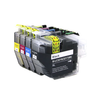 Huismerk Brother LC-3219XL Inktcartridges Multipack 4-Pack