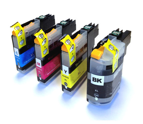 Huismerk Brother LC-225XL/LC-227XL Inktcartriges Multipack 4-Pack