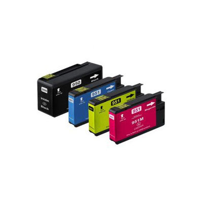 Huismerk HP 950XL/951XL Inktcartridge Mutipack 4-Pack