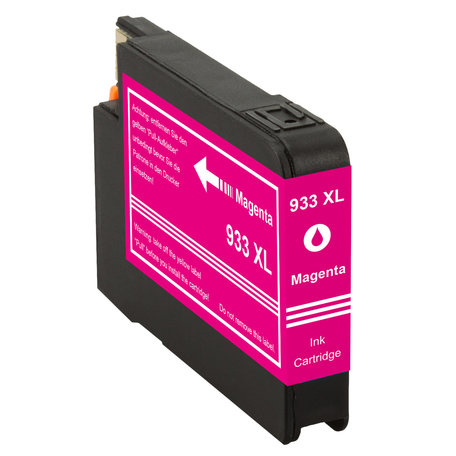 Huismerk HP 933XL Inktcartridge Magenta