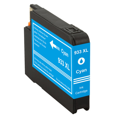 Huismerk HP 933XL Inktcartridge Cyaan