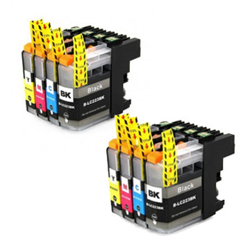 Huismerk Brother LC-223 Inktcartriges Multipack 8-Pack
