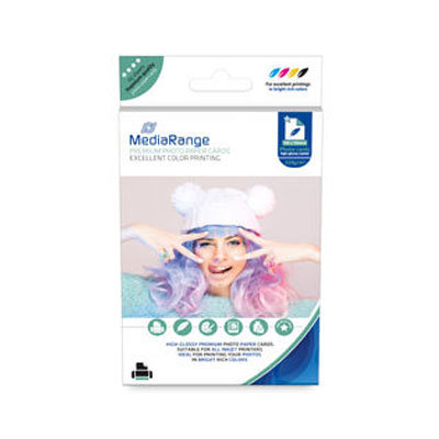 MediaRange Fotopapier High Glossy 10x15, 220 gr/m2, 50 Vel
