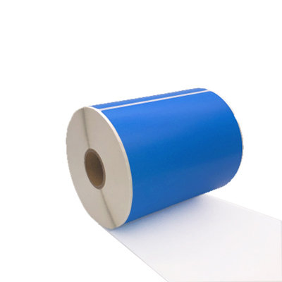 Huismerk Zebra labels, Verzendetiketten 102mmx150mm PostNL/DHL/DPD/UPS/GLS/TNT, 300 Etiketten, 25mm Kern, Blauw, Permanent