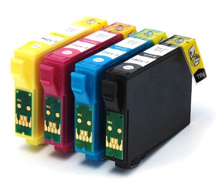 Huismerk Epson T1285 Inktcartridges Multipack 4-Pack