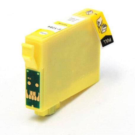 Huismerk Epson T1284 Inktcartridge Geel