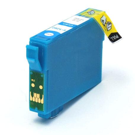 Huismerk Epson T1282 Inktcartridge Cyaan