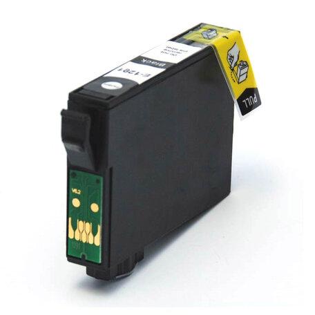 Huismerk Epson T1281 Inktcartridge Zwart