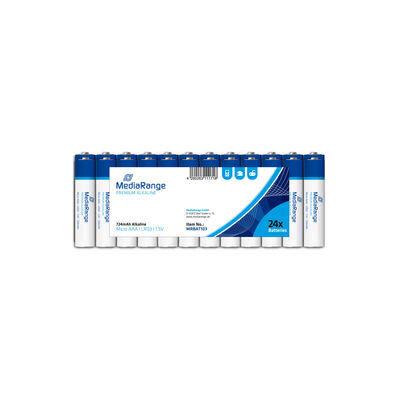 MediaRange Premium Alkaline Batterijen 1.5V LR03 Mini Penlite AAA (24 stuks)