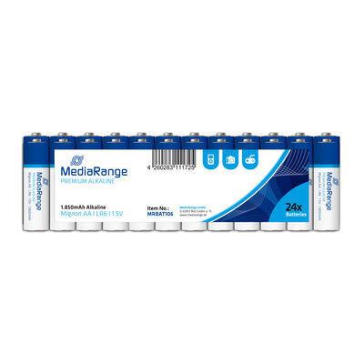 MediaRange Premium Alkaline Batterijen 1.5V LR6 Penlite AA (10 stuks)