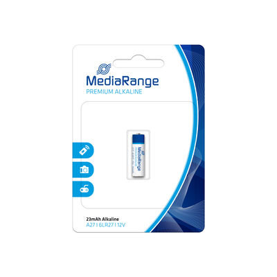 MediaRange Premium Alkaline Batterij A27 6LR27 12V