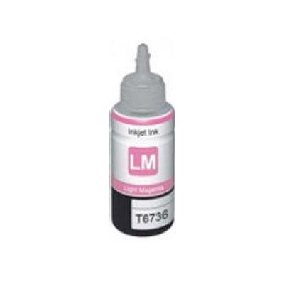 Huismerk Epson T6736 EcoTank Inktvulling Licht Magenta