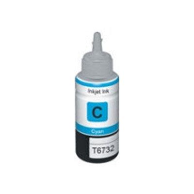 Huismerk Epson T6732 EcoTank Inktvulling Cyaan
