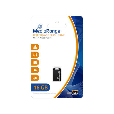 MediaRange Nano USB Stick 16 GB
