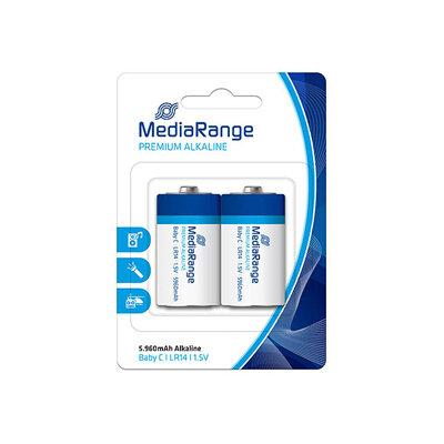 MediaRange Premium Alkaline Batterij Baby C LR14 1.5V (2 stuks)