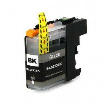 Huismerk Brother LC-223BK Inktcartridge Zwart