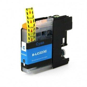 Huismerk Brother LC-223C Inktcartridge Cyaan