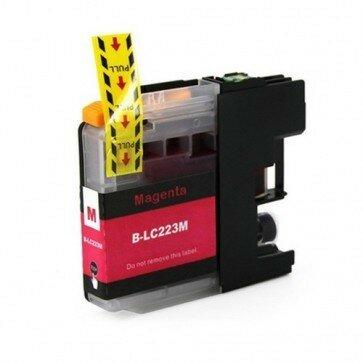 Huismerk Brother LC-223M Inktcartridge Magenta