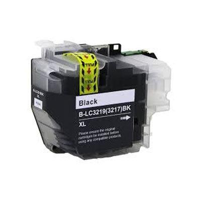 Huismerk Brother LC-3219XLBK Inktcartridge Zwart Hoge Capaciteit