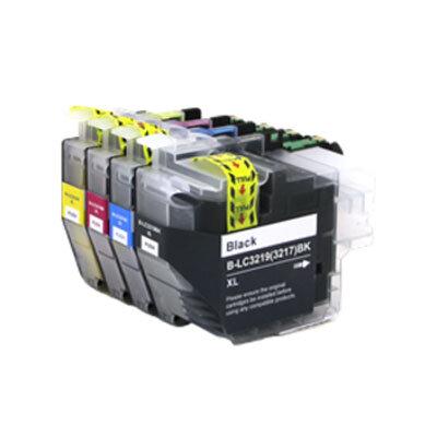 Huismerk Brother LC-3219XL Inktcartridges Multipack 4-Pack