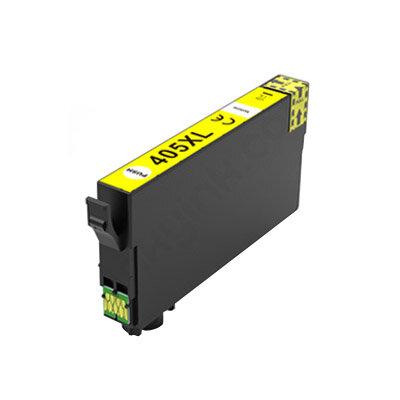 Huismerk Epson 405XL (C13T05H44010) Inktcartridge Geel Hoge Capaciteit