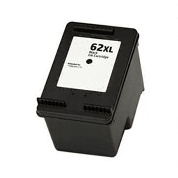 Huismerk HP 62XL Inktcartridge Zwart