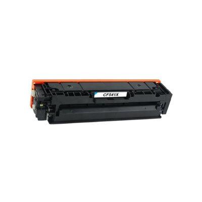 Huismerk Toner voor HP 203X (CF541X) Cyaan