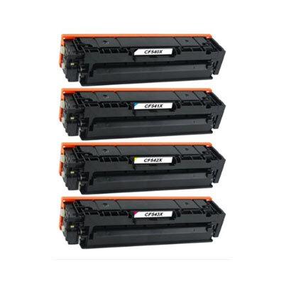 Huismerk Toner voor HP 203X  (CF540/1/2/3X) Multipack