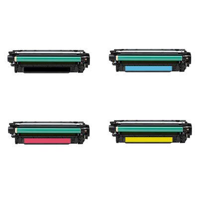 Huismerk Toner voor HP 650A (CE270/1/2/3A) Multipack
