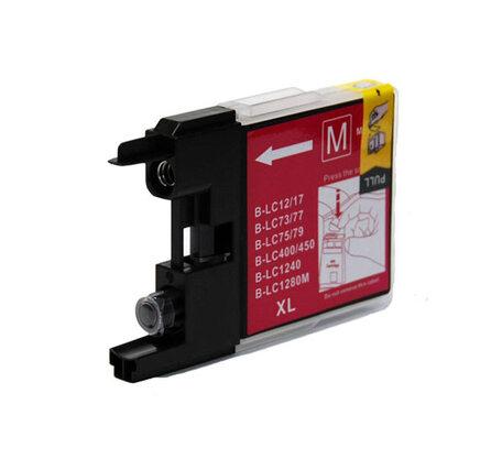 Huismerk Brother LC-1240M Inktcartridge Magenta