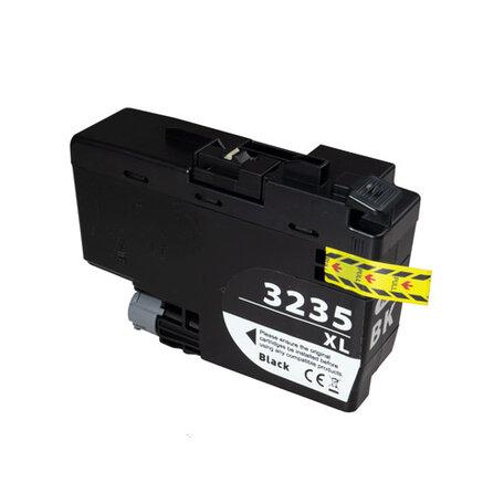 Huismerk Brother LC-3235XLBK Inktcartridge Zwart Hoge Capactiteit