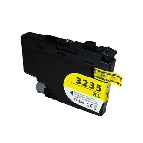 Huismerk Brother LC-3235XLY Inktcartridge Geel Hoge Capactiteit