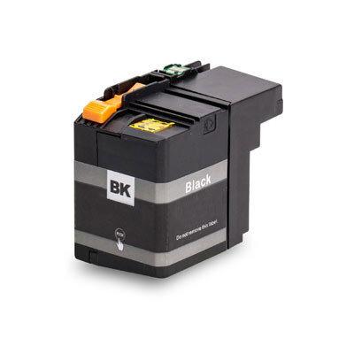 Huismerk Brother LC-22EBK Inktcartridge Zwart