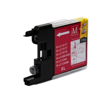 Huismerk Brother LC-1280XLM Inktcartridge Magenta