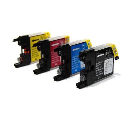 Huismerk Brother LC-1280XLBK inktcartridges Multipack