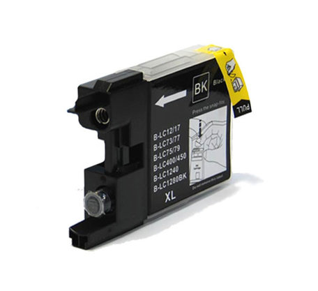 Huismerk Brother LC-1280XLBK Inktcartridge Zwart